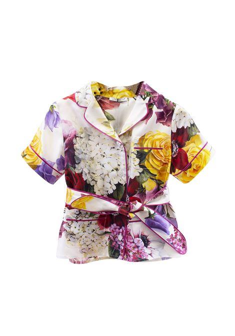 Kimono girl shirt DOLCE & GABBANA KIDS | Shirt | L53S89 HS10DHAW86
