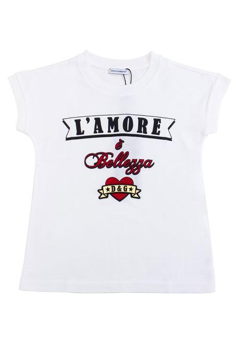 T-shirt bambino stampata DOLCE & GABBANA KIDS | T-shirt | L5JTCV G7RMDHWK59