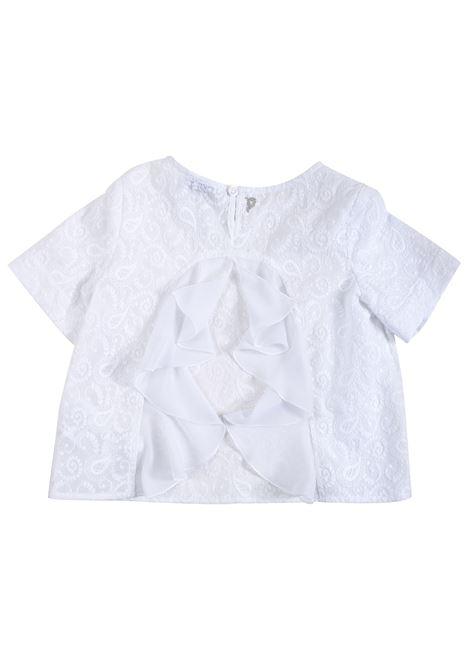 Girl shirt with embroidery DONDUP KIDS   YC160 RI288 XXX000