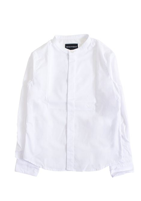 Korean neck baby shirt EMPORIO ARMANI KIDS | Shirt | 3G4CJ0 4N2RZ0100