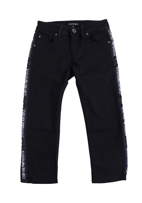 Baby jeans with side band EMPORIO ARMANI KIDS | Jeans | 3G4J45 4D1DZ0005
