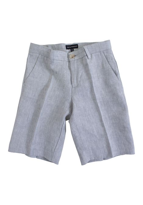 Child linen shorts EMPORIO ARMANI KIDS | Short | 3G4SJ5 4N2SZ0635