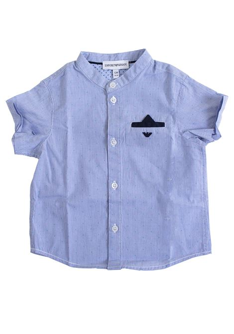 Newborn shirt with pocket EMPORIO ARMANI KIDS | Shirt | 3GHC04 4NHCZF905