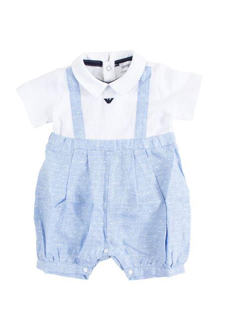 Newborn romper EMPORIO ARMANI KIDS | Newborn jumpsuits | 3GHD08 4NHFZF108