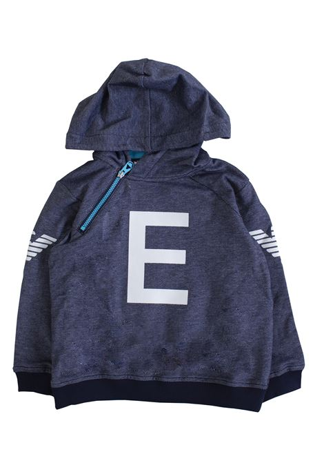 Newborn sweatshirt with hood EMPORIO ARMANI KIDS | T-shirt | 3GHM01 4J2FZ0929