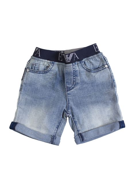 Newborn shorts with elastic waist EMPORIO ARMANI KIDS | Short | 8NHS03 4DFJZ0941