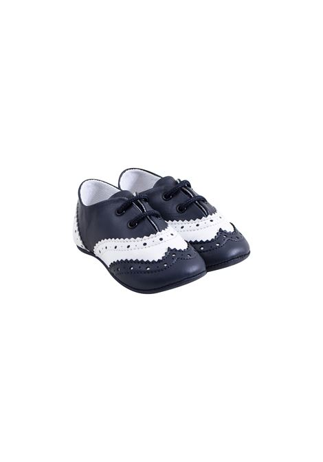 Baby brogues in leather EMPORIO ARMANI KIDS | Shoes | XLC002 XON08D813