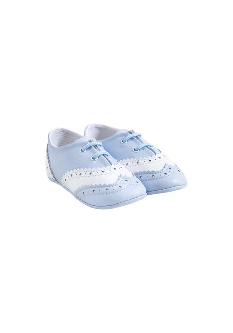 Baby brogues in leather EMPORIO ARMANI KIDS | Shoes | XLC002 XON08Y053