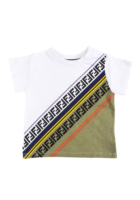 T-shirt Fendi neonato FENDI KIDS | T-shirt | BMI175 7AJF0VU8