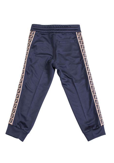 Baby trousers with logo FENDI KIDS | JMF171 A69DF0QA1
