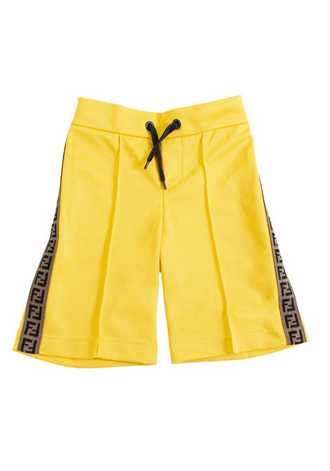 Bermuda shorts with logo FENDI KIDS | Bermuda | JMF172 A69DF0VNL