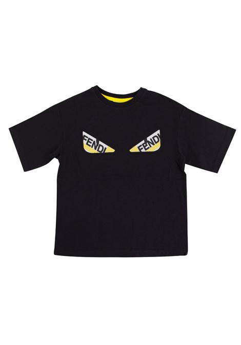 Kids T-shirt with print FENDI KIDS | T-shirt | JMI247 7AJF0QA1