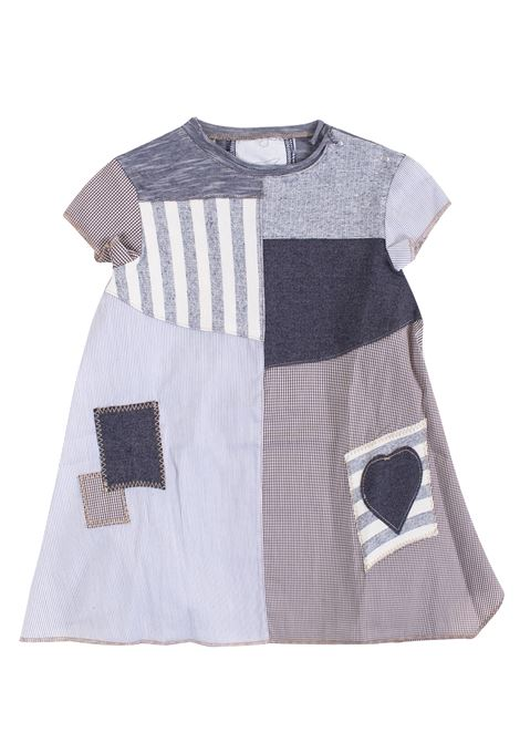 Newborn dress with patchwork FRUGOO KIDS | Dress | A11540