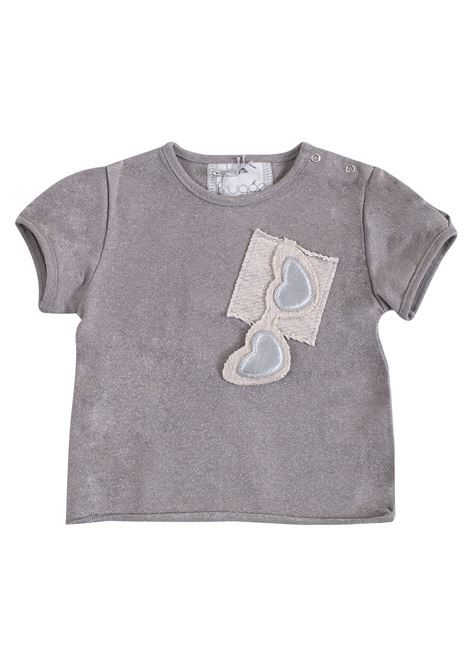 Newborn T-shirt with heart-shaped glasses FRUGOO KIDS | T-shirt | T09879