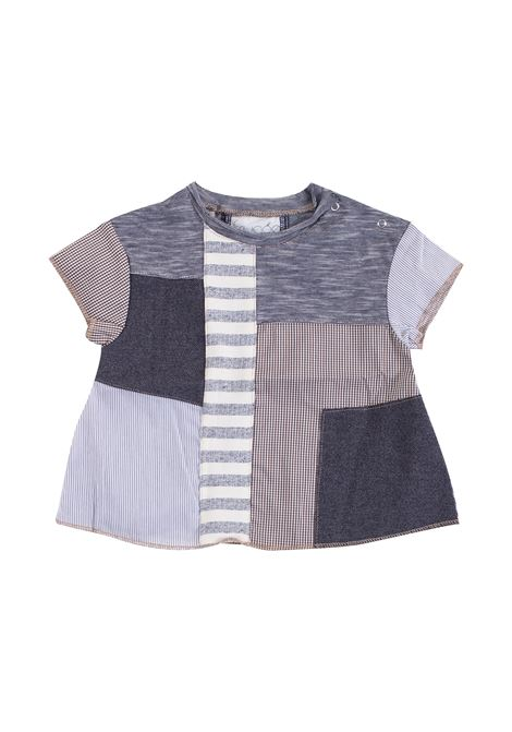 Newborn T-shirt with patchwork FRUGOO KIDS | T-shirt | T10740