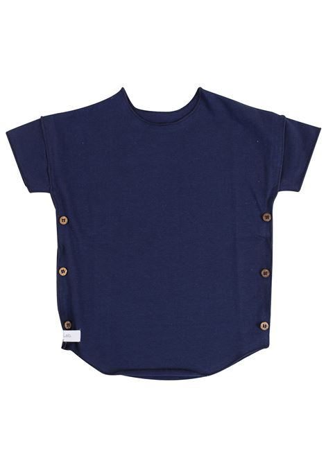 Baby T-shirt with buttons GAYALAB. | T-shirt | 220B01