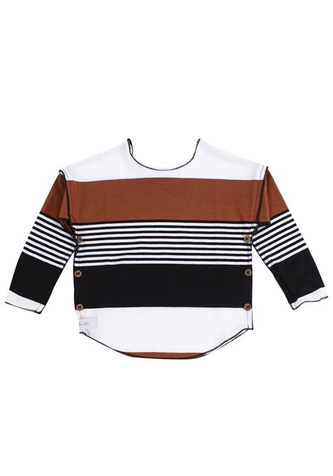 Striped baby t-shirt GAYALAB. | T-shirt | 224B03