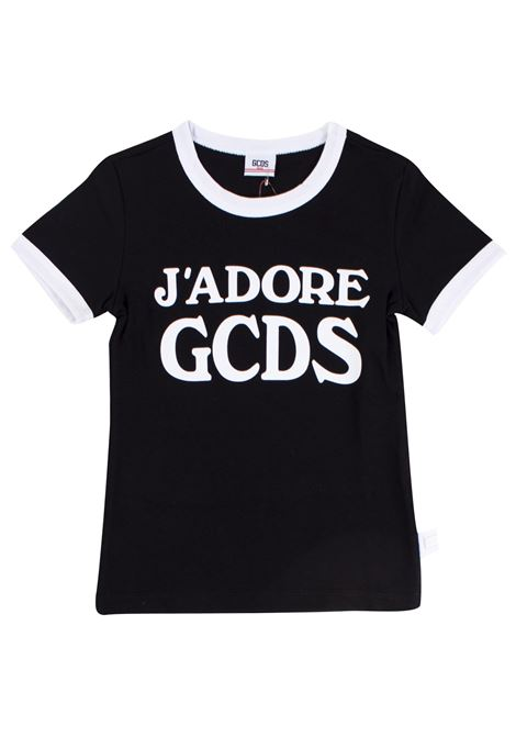 Girl's t-shirt with logo GCDS KIDS | T-shirt | 019461110