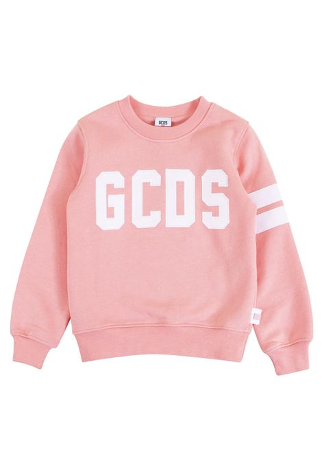 Girl sweatshirt with embroidered logo GCDS KIDS | Sweatshirts | 019486042