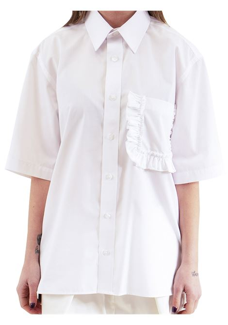 Woman shirt with breast pocket GINA GORGEOUS | Shirt | GI190901/A06