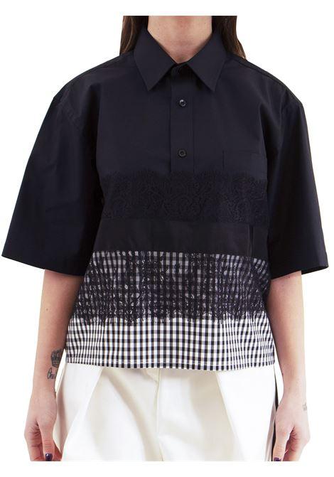 Woman shirt with lace GINA GORGEOUS | Shirt | GI190903/A01