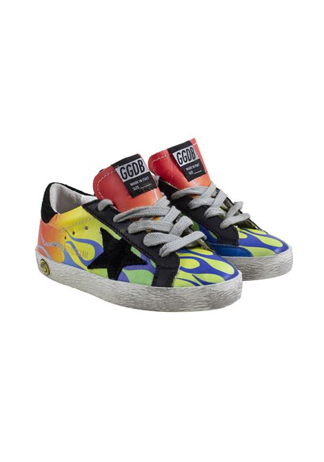 Sneakers Superstar bambino con stampa GOLDEN GOOSE KIDS | Scarpe | G34KS001 A8201