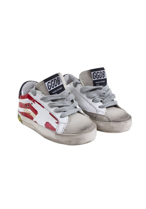 Sneakers Superstar bambino con stampa GOLDEN GOOSE KIDS | Scarpe | G34KS001 A8800