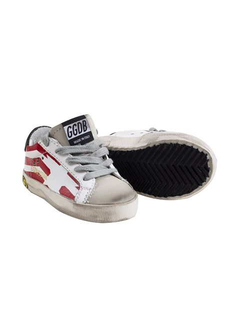 Sneakers Superstar bambino con stampa GOLDEN GOOSE KIDS | G34KS001 A8800