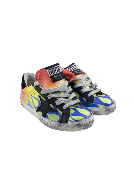 Sneakers Superstar bambino con stampa GOLDEN GOOSE KIDS | Scarpe | G34KS301 A8201
