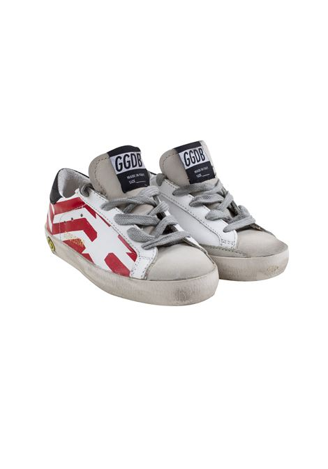 Superstar sneakers with print GOLDEN GOOSE KIDS | Shoes | G34KS301 A8800