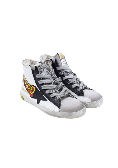 Black Star child sneakers GOLDEN GOOSE KIDS | Shoes | G34KS302 A1100