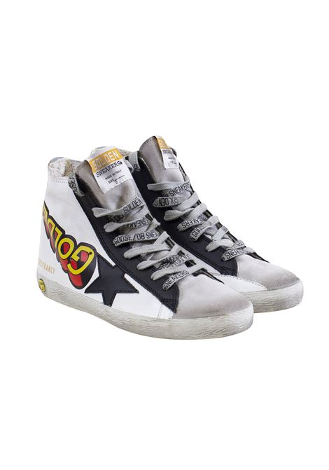 Black Star child sneakers GOLDEN GOOSE KIDS | Shoes | G34KS502 A1100