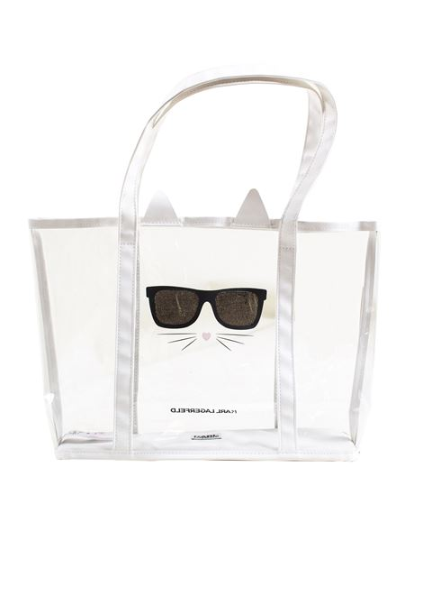 Child bag in plastic KARL LAGERFELD KIDS | Bags | Z10055Z42