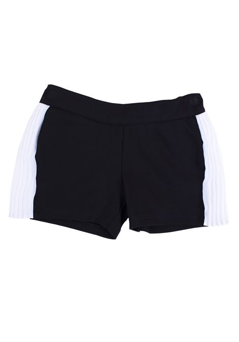 Girl shorts with side bands