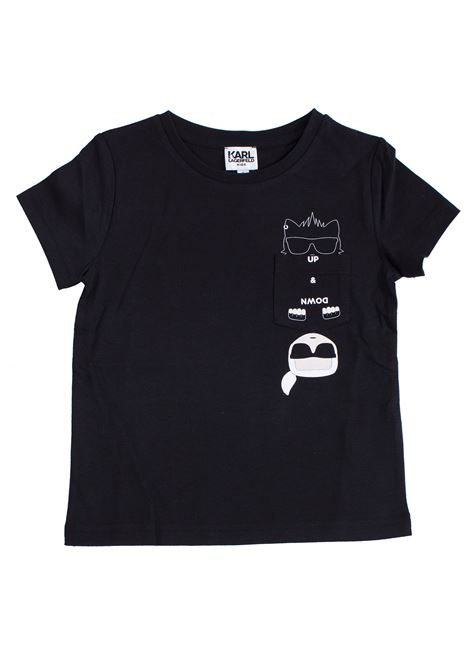 Kids T-shirt with print KARL LAGERFELD KIDS | T-shirt | Z2517909B