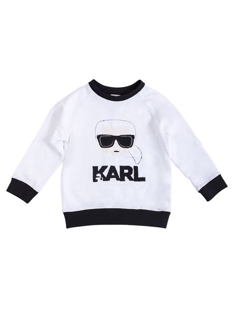 Kids sweatshirt with print KARL LAGERFELD KIDS | Sweatshirts | Z2518910B