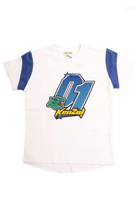 Baby t-shirt with logo KENZO KIDS | T-shirt | KN1055801