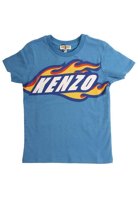 T-shirt Bambino con logo KENZO KIDS | T-shirt | KN1057850