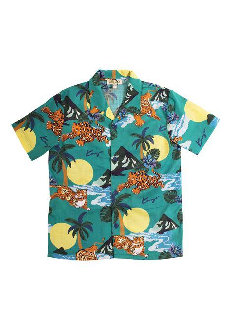 Camicia bambino con stampa KENZO KIDS | Camicie | KN1251854