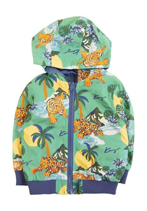 Reversible newborn jacket KENZO KIDS | Jackets | KN4250754