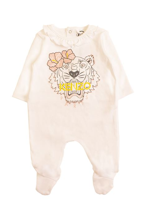 6721e2264 Baby girl jumpsuit with logo KENZO KIDS | Newborn jumpsuits | KN5402301