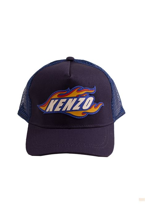 Baby hat with logo KENZO KIDS | Hats | KN9051849