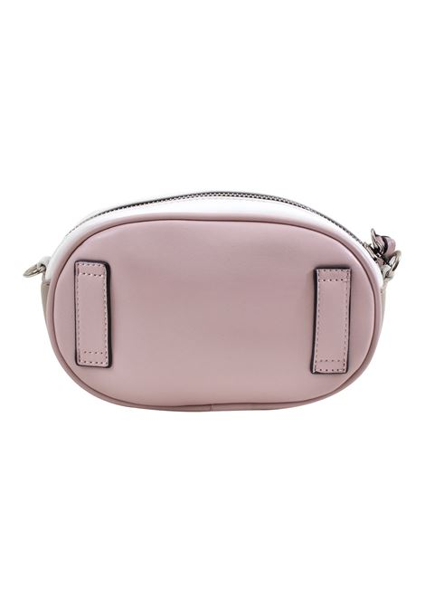 Pouch bag in faux leather and studs LA CARRIE | C-740-EP01