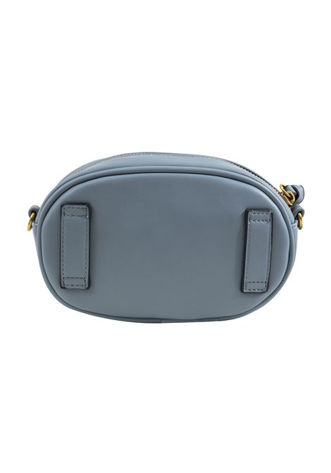Pouch bag in faux leather and studs LA CARRIE | C-755-ECC07