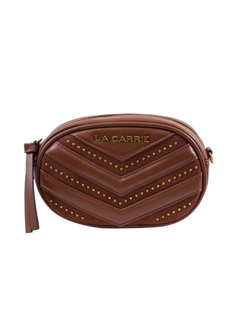 Pouch bag in faux leather and studs LA CARRIE | Pouch | C-755-ECC08