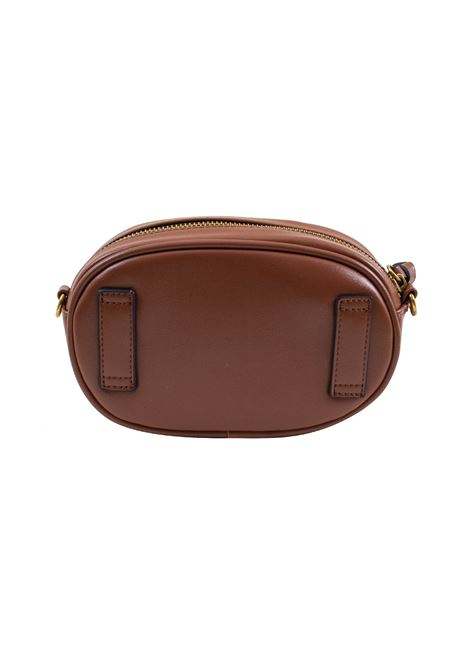 Pouch bag in faux leather and studs LA CARRIE | C-755-ECC08