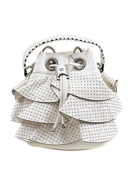Bucket bag in faux leather and studs LA CARRIE | E-690-EP02