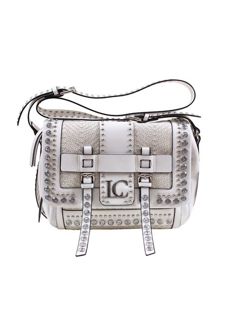 Bag in faux leather with studs and strass LA CARRIE | R-370-EPR02