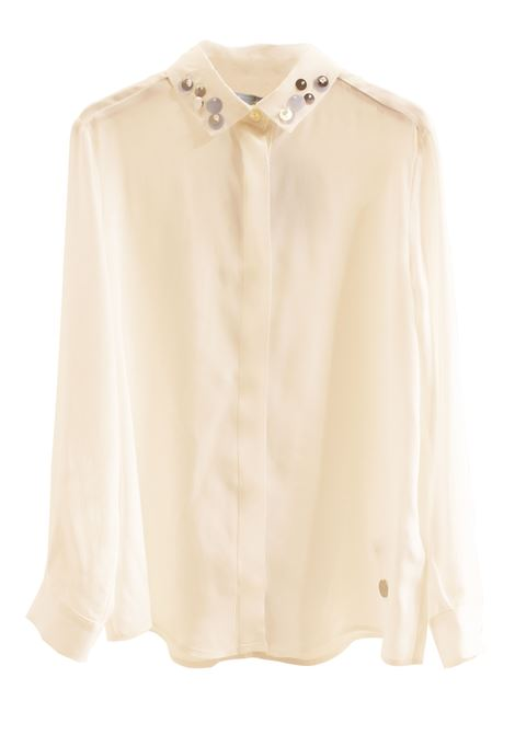 Girl shirt with applications LANVIN KIDS   4K5520 KB510102