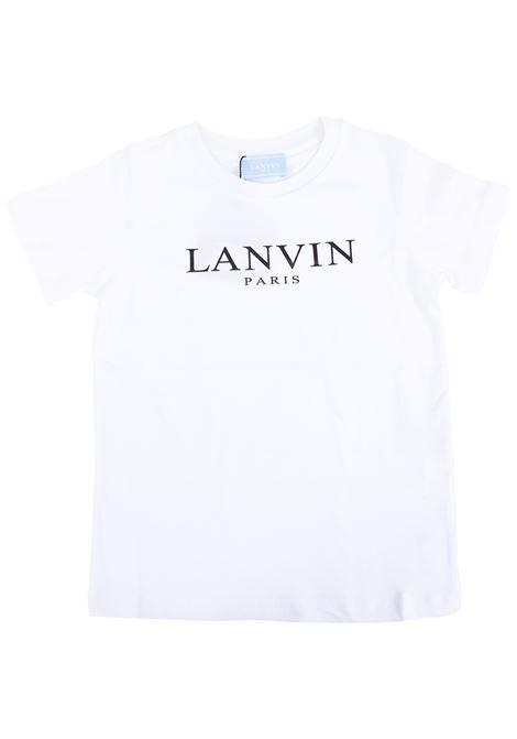 T-shirt bambino con logo stampato LANVIN KIDS | T-shirt | 4K8031 KA050100